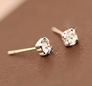 South Korea Diamond Stud Earrings