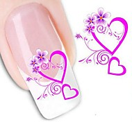 5Pcs Fashion 3D Design Nail Stickers