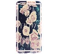Rose Design Hard Case for iPhone 6 Plus