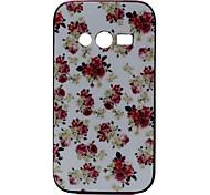 patrón de cubierta de la caja rosa para Samsung Galaxy Ace 4 g313h
