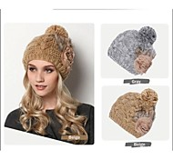 Fashion Thick Warm Earmuffs Knitting Wool Cap