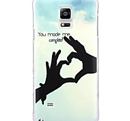 Fashion Cartoon Stained PC Hard Case for Samsung Galaxy Note 4