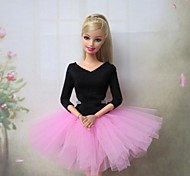 Barbie-Puppe süße Ballettkleid in pink