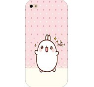 Rabbit Pattern Hard Back Case for iPhone 6 Plus