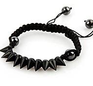 Fashion Hand-woven Rivet Bracelets Random Color