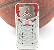 air jordan sneakers projeto parte iv TPU soft case para iphone 6 / 6s (cores sortidas)