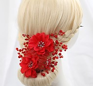 bel copricapo da sposa con fiori