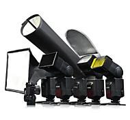 Godox 6-en-1 kit de accesorios Speedlite SA-K6 para la cámara réflex digital