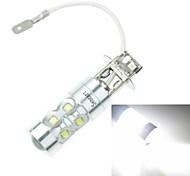 h3 PK22s 50w 6500k 10xcree froide de 3100lm blanc pour la lumière de brouillard de voiture (ac / DC12V-24)