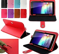 Flip Faux Leather Case with Stand for 8 Inch Universal Tablet PC  (Assorted Colors)