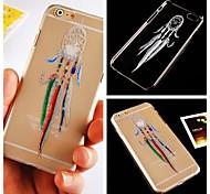 quatre motif de dreamcatcher couleur étui rigide pour iPhone 6