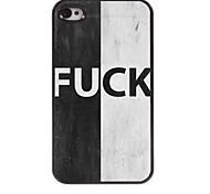 FUCK Design Aluminum Hard Case for iPhone 4/4S