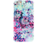 Blooming Flower Design Hard Case for iPhone 6