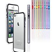 PC + TPU weicher Stoßrahmenfall für iphone 5/5 s (farblich sortiert)