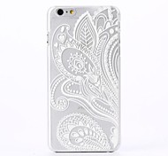 Man-eater Flower Pattern Plastic Hard Cover for iPhone 6