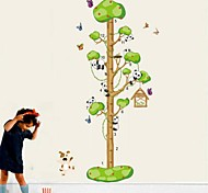 Lovely Panda Height Wall Sticker