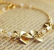 in lega d'argento del fiore di modo accessorio fascino (3pcs)