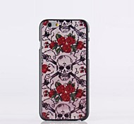 Skull Pattern PC Hard Case for iPhone 6 plus