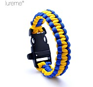 Survival Whistle / Survival Bracelet Survival / Whistle Hiking Nylon Other - Lureme