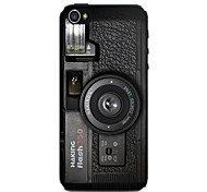 Black Camera Pattern Hard Case for iPhone 4/4S