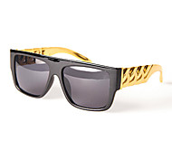 100% UV Square Plastic Fashion Sunglasses