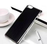 High Quality Brushed Metal Plating Metal Back Cover for iPhone 6(Assorted Colors)
