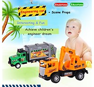 Hight Quality Toy Car for Children Friction Truck Set with Tools 12 Style Theme for Selection 20142
