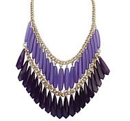 Women's New Double Tassel  Necklace