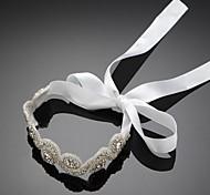 Alloy Wedding Bridal Forehead Jewelry With Rhinestone