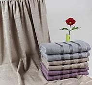 """serviette de bain, 3 couleurs 70% de fibre de bambou 30% serviette de coton à rayures 55 """"* 29"""""""