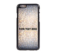 Personalized Phone Case - Sparkle Design Metal Case for iPhone 6
