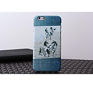 Heshishi Cowboy Series Water Decals 4.7 Inch Mobile Phone Case Protection Shell for iPhone 6