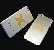 X-Men Style Plastic Hard Back Cover for iPhone 6