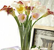 Пластик Калла Искусственные Цветы