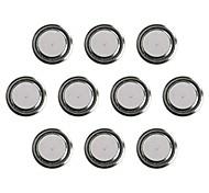 KuLei AG10/389A/1131/GP389/GP189/GP89/LR54/LR1130/390 1.55V Alkaline Cell Button Batteries (10 PCS)