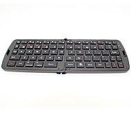 teclado plegable bluetooth inalámbrico portátil para tablet iphone / ipad