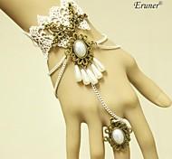 eruner®new кружева бахромой старинные браслеты группа кольца целое цепи