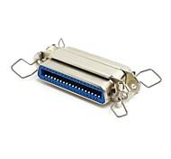 Parallel Port LPT Centronics Cn36 pin Female to Female Extension Slimline Gender Changer Convertor Adapter Coupler