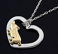 Fashion Gold Plated Heart Pig Necklace Necklaces Random Color