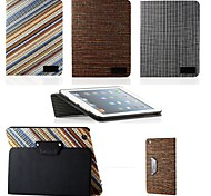 "CDN ""Mini Taylor"" Folio Style Woven Pattern Fabric Portfolio Case for iPad mini 1/2/3"