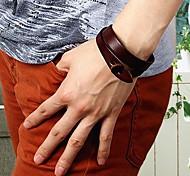 Fashion Women's Simple Bracelet Multicolor Cow Leather Bracelets(Assorted Colors)