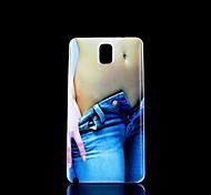 Schönheit Muster Hartschalenetui für Samsung Galaxy Note 3