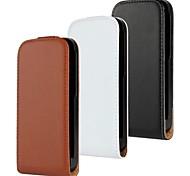 kemile Luxus-Tasche aus echtem Leder Flip-Cover für HTC ein m8 mini 2 (farblich sortiert)