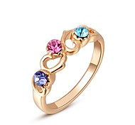 Women's Rose Gold Ring Rose Gold