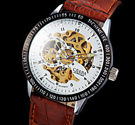 CJABA® Men's Watch Auto-Mechanical Classic Skeleton Hollow Engraving