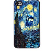 The Starry Night Design Aluminum Hard Case for iPhone 4/4S