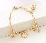 Charming Gold Bracelet