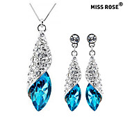Miss ROSE®Fashionable Magnificent Crystal Suit