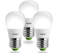 IENON® E26/E27 5 W SMD 400-450 LM Cool White S Globe Bulbs AC 100-240 V
