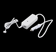 "45W Dual USB Car Charger DC Power Adapter for 13"" Apple Macbook Air Retina Mac (White)"